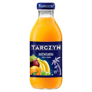 Tarczyn Napój wieloowocowy multiwitamina 12 witamin 300 ml