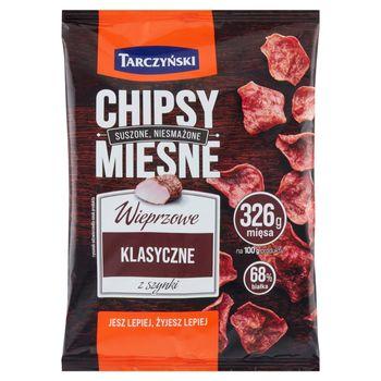 Tarczyński Chipsy mięsne wieprzowe klasyczne z szynki 25 g