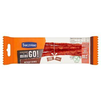 Tarczyński Kabanos mini Go! wieprzowy 25 g