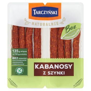 Tarczyński Naturalnie Kabanosy z szynki 180 g (2 x 90 g)