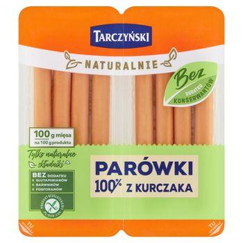 Tarczyński Naturalnie Parówki 100% z kurczaka 160 g (2 x 80 g)