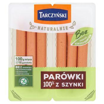Tarczyński Naturalnie Parówki 100% z szynki 200 g (2 x 100 g)