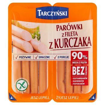 Tarczyński Parówki z fileta z kurczaka 180 g (2 x 90 g)