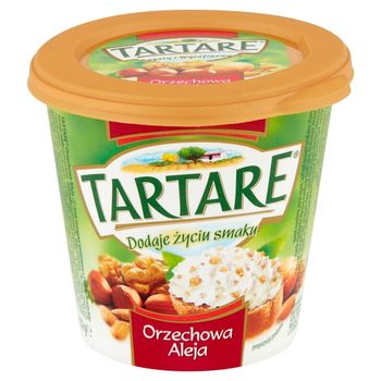 Tartare Orzechowa Aleja Serek twarogowy z orzechami 150 g