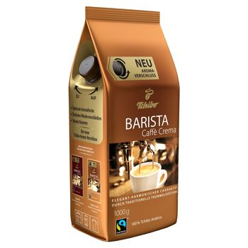 Tchibo Barista Caffè Crema Kawa palona ziarnista 1000 g