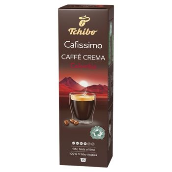 Tchibo Cafissimo Caffe Crema Colombia Kawa palona mielona w kapsułkach 80 g (10 x 8 g)