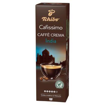 Tchibo Cafissimo Caffe Crema India Kawa palona mielona w kapsułkach 75 g (10 x 7,5 g)