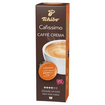Tchibo Cafissimo Caffè Crema Rich Aroma Kawa palona mielona w kapsułkach 76 g (10 x 7,6 g)