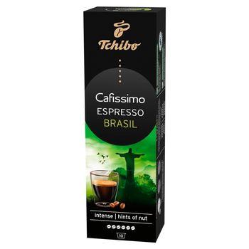 Tchibo Cafissimo Espresso Brasil Kawa palona mielona w kapsułkach 80 g (10 x 8 g)
