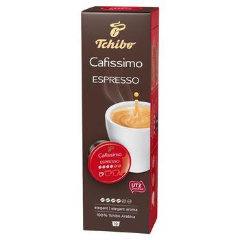 Tchibo Cafissimo Espresso Elegant Kawa palona mielona w kapsułkach 70 g (10 x 7 g)