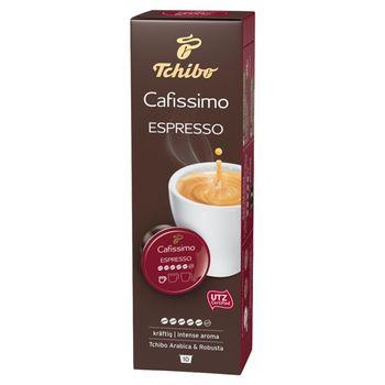 Tchibo Cafissimo Espresso Intense Aroma Kawa palona mielona w kapsułkach 75 g (10 x 7,5 g)
