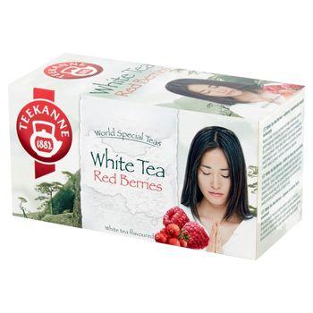 Teekanne World Special Teas Herbata biała o smaku żurawinowo-malinowym 25 g (20 x 1,25 g)