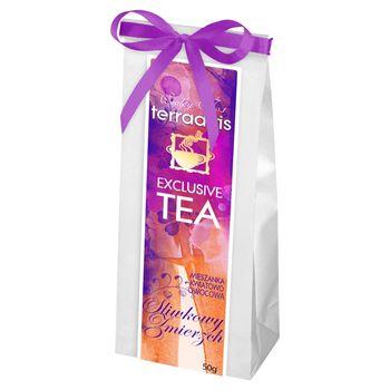 Terraartis Exclusive Tea Mieszanka kwiatowo owocowa śliwkowy zmierzch 50 g