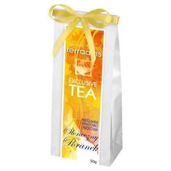 Terraartis Exclusive Tea Mieszanka kwiatowo owocowa słoneczny poranek 50 g
