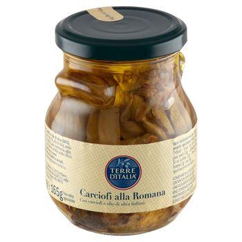 Terre d'Italia Karczochy przyprawione w oliwie z oliwek 290 g