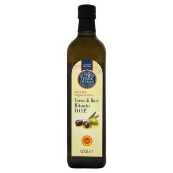 Terre d'Italia Oliwa z oliwek extra vergine Terra di Bari Bitonto 0,75 l