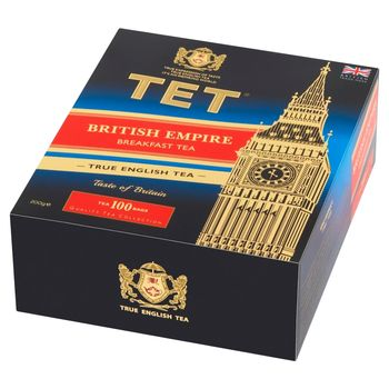 TET British Empire Herbata czarna 200 g (100 x 2 g)