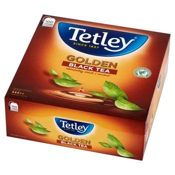 Tetley Golden Herbata czarna 200 g (100 x 2 g)