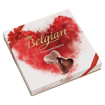 The Belgian Hearts Belgijskie czekoladki 200 g (20 sztuk)