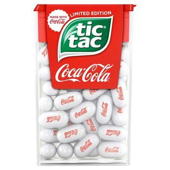 Tic Tac Drażetki o smaku Coca-Cola 18 g