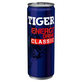 Tiger Energy Drink Classic Gazowany napój energetyzujący 250 ml