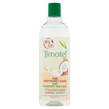 Timotei Pure Odżywione i Lekkie Szampon 400 ml