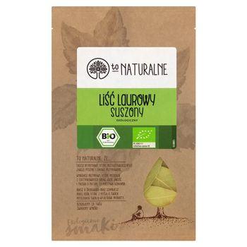 To Naturalne Liść laurowy suszony ekologiczny 6 g