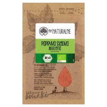 To Naturalne Papryka słodka mielona ekologiczna 15 g