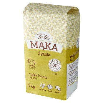 To ta! Mąka żytnia typ 720 1 kg
