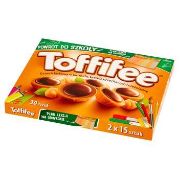 Toffifee Orzech laskowy w karmelu kremie orzechowym i czekoladzie 250 g (2 x 125 g)