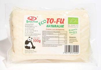 Tofu naturalne BIO 300 g Solida Food