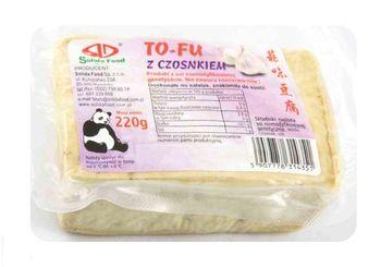 Tofu z czosnkiem 220 g Solida Food