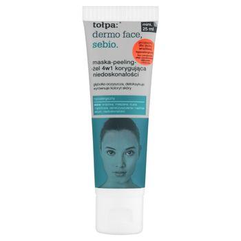 tołpa Dermo Face Sebio Maska-peeling-żel 4w1 korygująca niedoskonałości 25 ml
