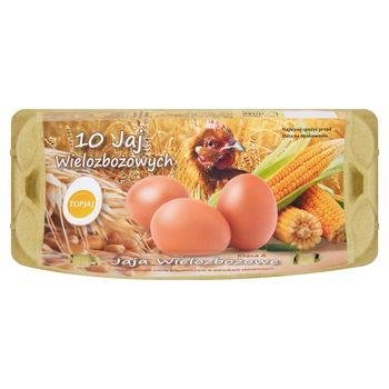 Top Jaj Jaja wielozbożowe z chowu klatkowego L 10 sztuk