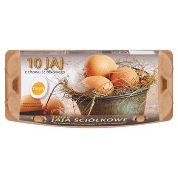 Top Jaj Jaja z chowu ściółkowego L 10 sztuk