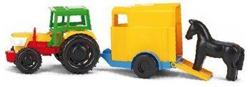 Traktor z przyczepą WADER Traktor z przyczepą 35001