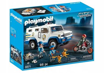 Playmobil Transporter pieniędzy 9371