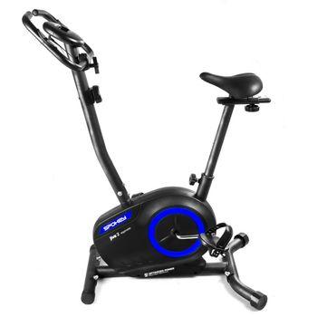 Treningowy rower magnetyczny Spokey JIVE Czerwony / Niebieski
