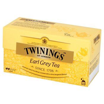 Twinings Earl Grey Czarna herbata z aromatem bergamoty 50 g (25 torebek)