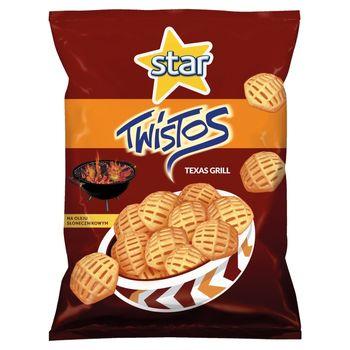 Twistos Twistos Przekąski ziemniaczane o smaku grillowanego mięsa 110 g