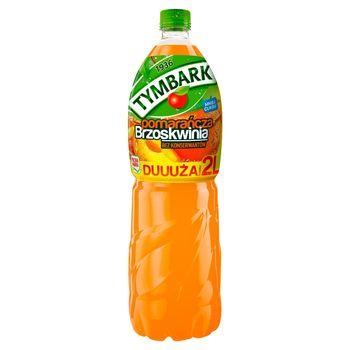 Tymbark Napój pomarańcza brzoskwinia 2 l