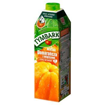 Tymbark Nektar pomarańcza z miąższem 1 l