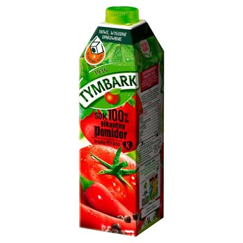 Tymbark Sok 100% pikantny pomidor 1 l