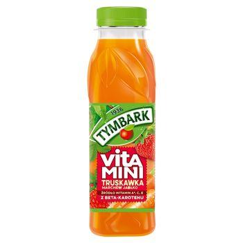 Tymbark Vitamini Sok truskawka marchew jabłko 300 ml