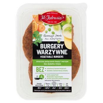 U Jędrusia Burgery warzywne 200 g