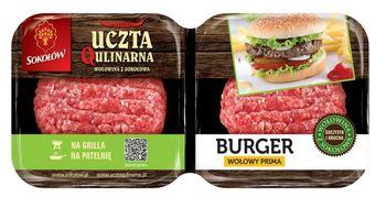 Uczta Qulinarna burger wołowy PRIMA