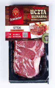 Uczta Qulinarna - Stek z antrykotu wołowego bez kości