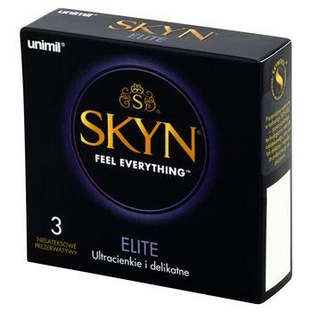 Unimil Skyn Elite Nielateksowe prezerwatywy 3 sztuki