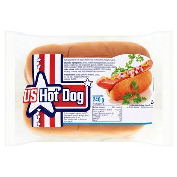 US Hot Dog Bułki do hot dogów 240 g (4 sztuk)