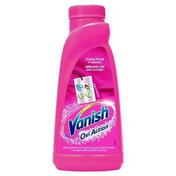 Vanish Oxi Action Odplamiacz do tkanin w płynie 500 ml